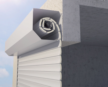 Porte de garage applique extérieure