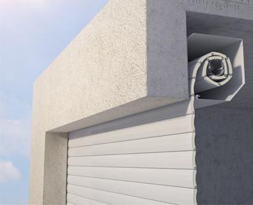 Porte de garage applique intérieure
