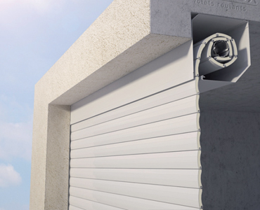 Porte de garage sous dalle